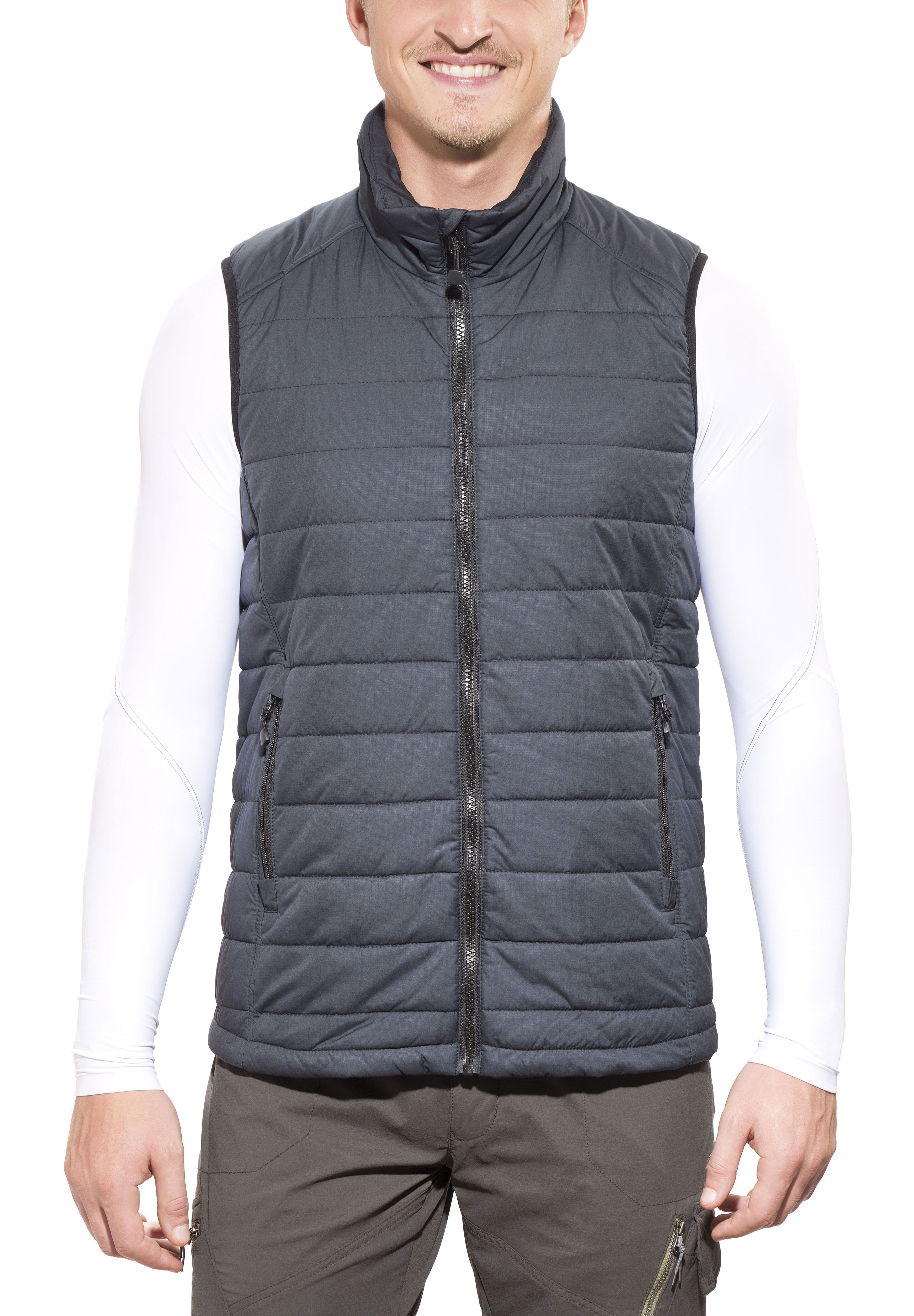 grossiste 39afc aeeee axant Alps Gilet matelassé Homme, anthracite